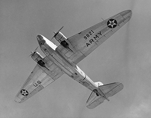 (Wwii US Army B-18A NuS Army Douglas B-18A Twin-Engine Bomber Powered By Wright Cyclone Engines Poster Print by (24 x 36))