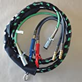 15' 3-IN-1 WRAP - 7 WAY ELECTRICAL TRAILER CORD CABLE ABS & AIR LINE HOSES