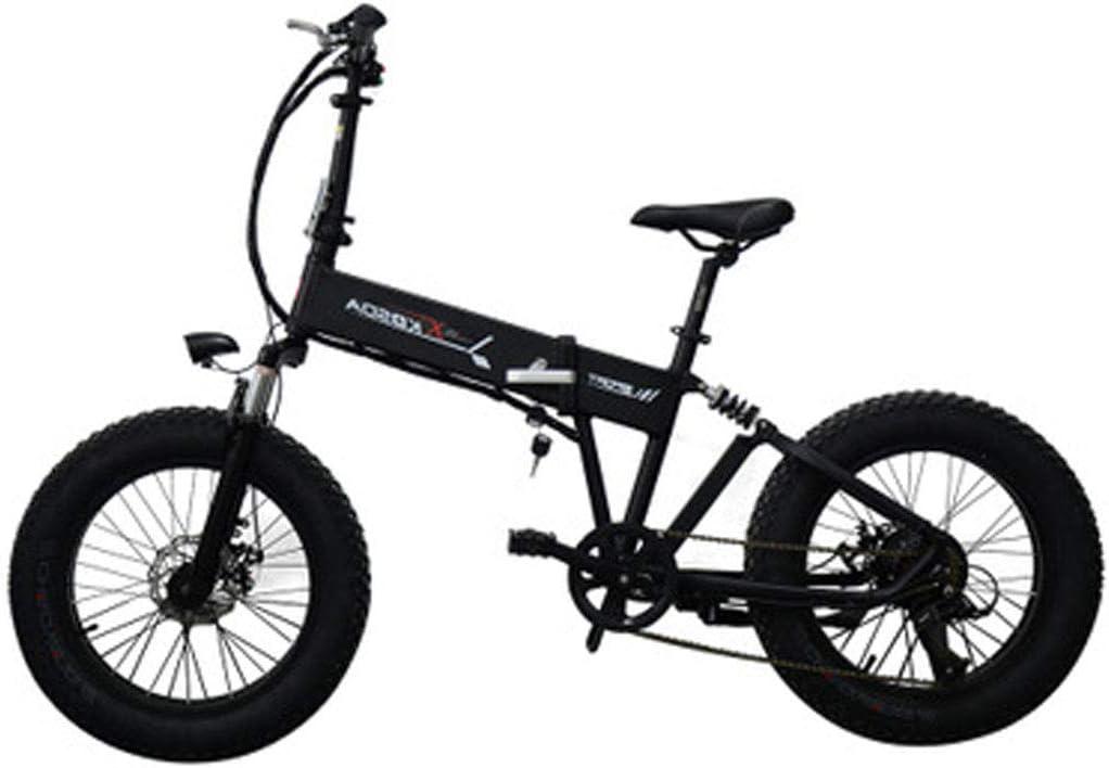 Jun Bicicleta De Ciudad Eléctrica Plegable 48V10AH, (Batería De ...
