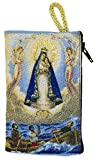 Embroidered Rosary Pouch by Venerare (Small, Our Lady Star of the Sea)