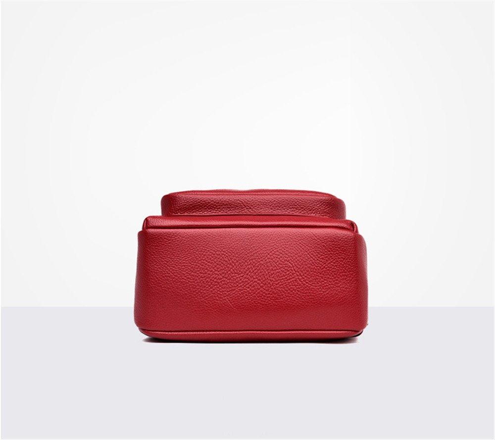SJMMBB Double Shoulder Bag Female Mini Fashion Mini Knapsack,Blue,32X23X12Cm
