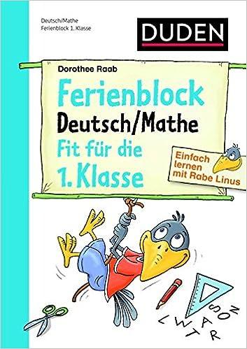 Einfach Lernen Mit Rabe Linus Deutsch Mathe Ferienblock