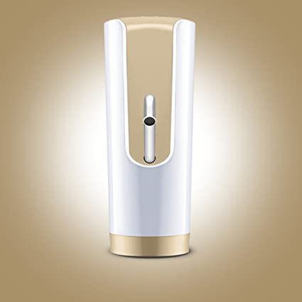 Zehui Smart - Dispensador de agua inalámbrico USB para bebidas eléctricas con bloqueo de seguridad para