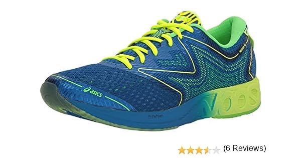 Asics T722N.4507 Zapatillas de Running, 9 de Reino Unido Hombre Imperial/Seguridad Amarillo/Verde del Gecko 9 Reino Unido: Amazon.es: Zapatos y complementos