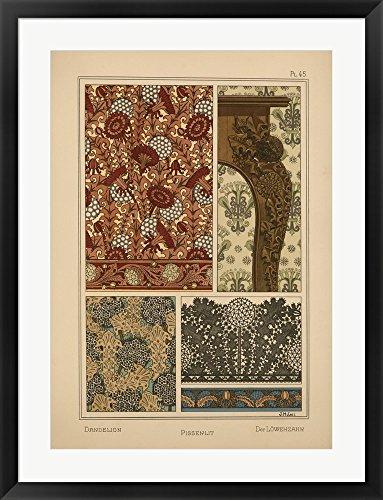 vintage dandelion poster