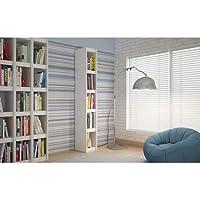 Manhattan Comfort Parana 1.0 Bookcase (White)