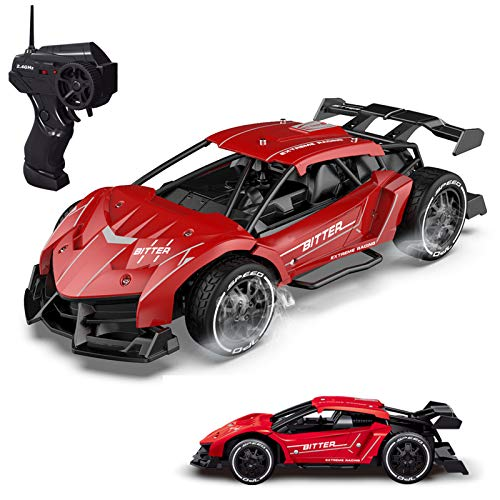 Remote Control Car RC Car for Boys High Speed 1/20 Alloy Rechargeable Radio 2.4Ghz Control Electric Car Toy Car for Boys Age 8-12 Kids Gift