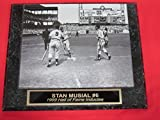 Stan Musial St Louis Cardinals Collector Plaque w/8x10 Photo VINTAGE HOME RUN