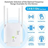 WiFi Signal Booster with 4 Advanced External