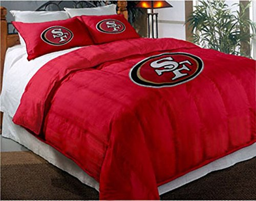 San Francisco 49ers NFL Twin/Full Comforter Pillow Sham Set
