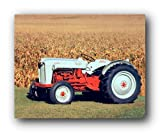 Wall Decor 1953 Ford NAA Golden Jubilee Tractor Farm Vintage Tractor Art Print Poster (8x10)