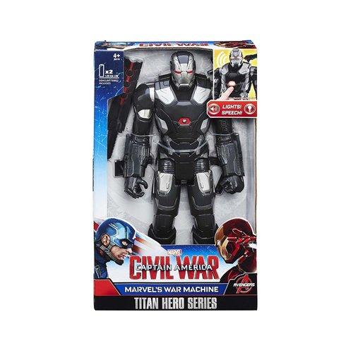 Marvel Titan Hero série Guerre Civile War Machine électronique Figurine HASBRO B61791020