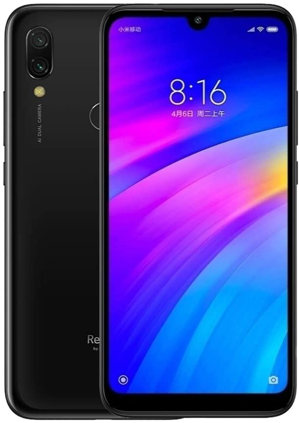 Xiaomi Redmi 7, Smartphone, Wi-Fi 802.11 b/g/n; Bluetooth 4.2, Android, Negro