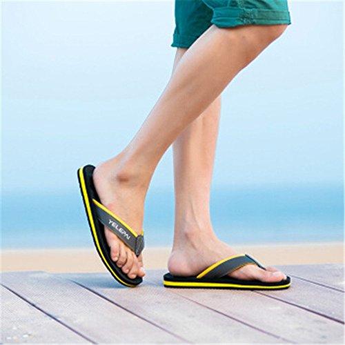 spiaggia Impermeabile Sandali cm e pelle in da estive Sandalo da Melodycp antiscivolo estivi Scarpe da 27 uomoCasual uomo uomo Infradito bagnato 5 24 da zHBwnx