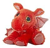 Aurora World Dreamy Eyes Plush Flame Red Dragon, 10' - 21249