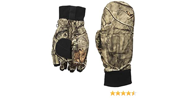 c3d8b5bf12d39 Amazon.com : Huntworth Men's Heavy Weight Classic Hunting Pop Top Glove :  Clothing