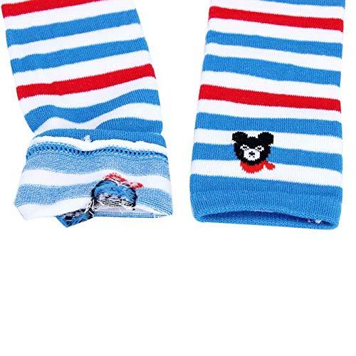Calcetines Altos Bebe Calcetines Algodon Baby Rainbow Kneepad Socks Leg Warmer: Amazon.es: Ropa y accesorios