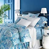 Lauren by Ralph Lauren Bedding Jamaica Blue Paisley Full / Queen Comforter