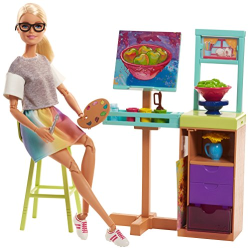 Barbie Art Studio Playset - Studio Sunnies