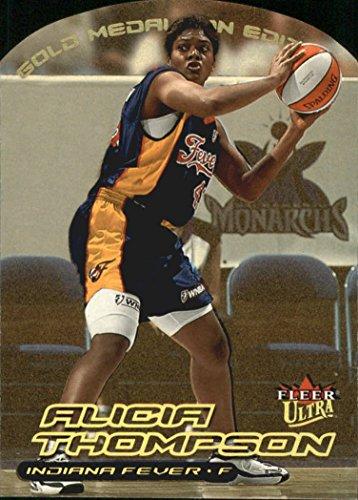 2000 Ultra WNBA Gold Medallion #75 Alicia - Alicia Gold