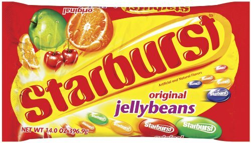 Starburst Original Jelly Bean Bag, 14-Ounce (Pack of 6) ()