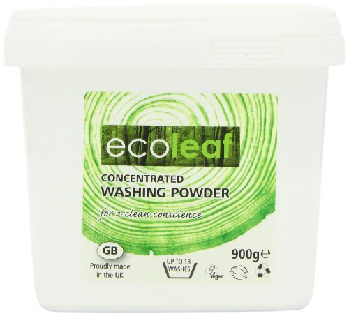 Ecoleaf Concentrated Washing Powder 900 g by Ecoleaf