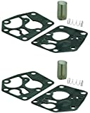 Briggs & Stratton 2 Pack 5083K Carburetor Diaphragm Replaces 281028, 272372 and 495770