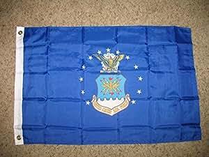 Estados Unidos US Air Force emblema 2x 32'x3' bandera de poliéster