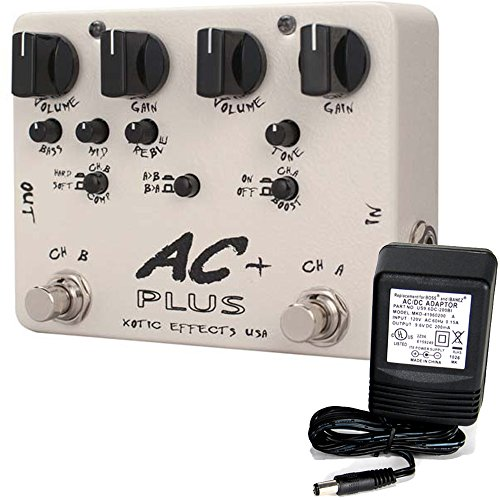 Channel Overdrive Pedal - Xotic Effects AC Plus 2-Channel Overdrive Guitar Effects Pedal