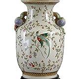Home decor. Round Vase. Dimension: 12''. Pattern: Fond Haven.