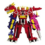 """Power Rangers """"Dino Supercharge Deluxe Plesio Charge Megazord (43095)"""