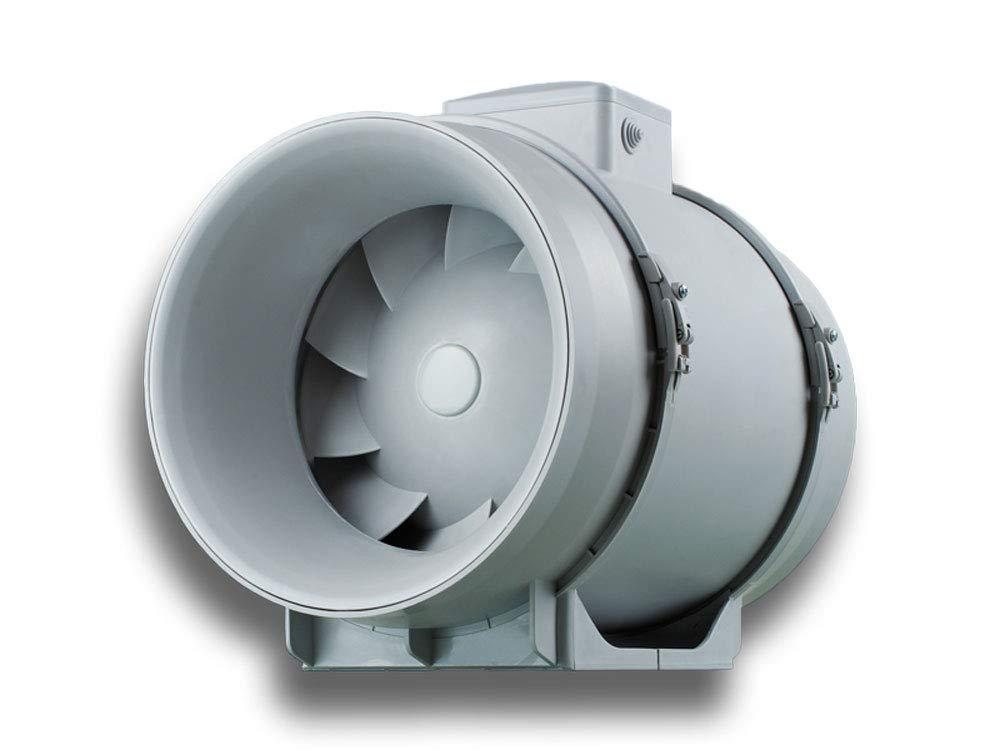 Rohreinschubventilator Rohrventilator Rohreinschub Rohrl/üfter Einschubl/üfter Abluft Zuluft L/üfter Eco pro design energiesparend ge/äuscharm System /Ø 100