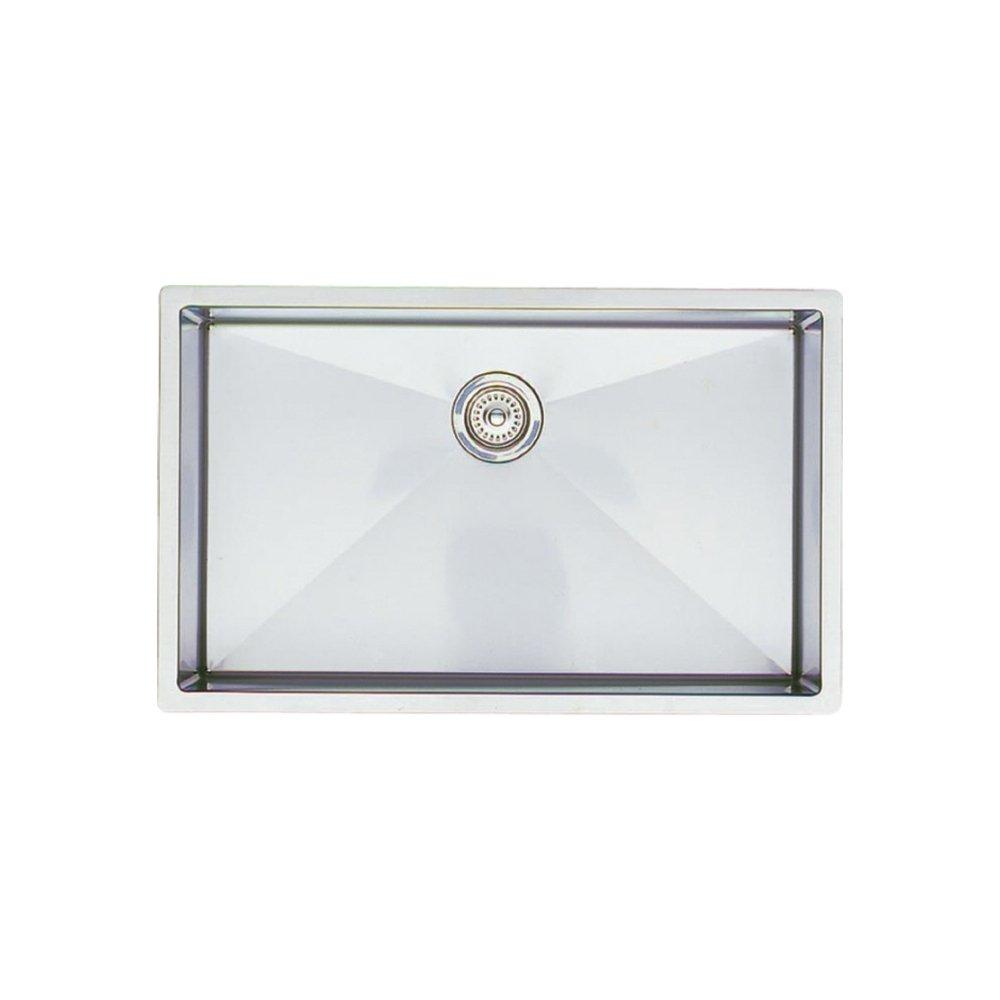 Blanco 513 686 Precision R10 Super Single Bowl Undermount Kitchen Sink,  Satin Polished Finish   Single Bowl Sinks   Amazon.com