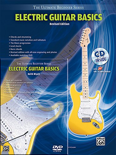 Ultimate Beginner Electric Guitar (Ultimate Beginner Electric Guitar Basics Mega Pak (Book, CD & DVD) (The Ultimate Beginner Series))