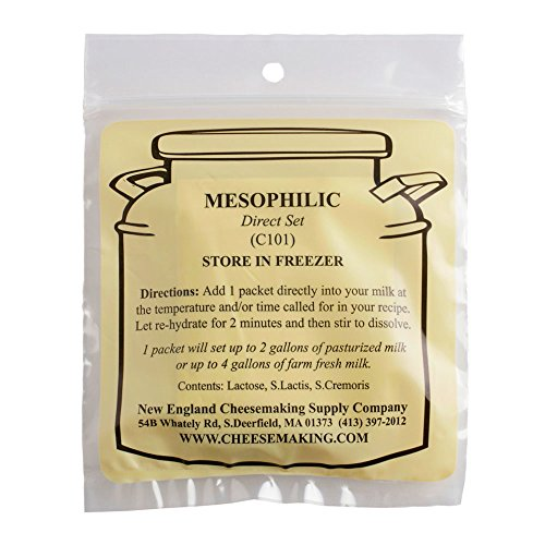 (Mesophilic Direct Set Cheese Culture, 5-Pack)