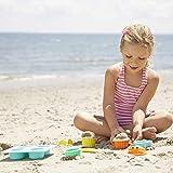 Melissa & Doug Sunny Patch Seaside Sidekicks Sand Cupcake Play Set (Beach and Sandbox Toy, 12 Pieces)