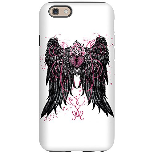 iPhone 6 Tough Case Heart Locket with Wings]()