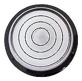 Large Round Bulls Eye Bubble Level - Tool Clock Hobby Turntable Camera Caravan