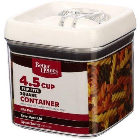 Flip-Tite 4.5 Cup Square Container