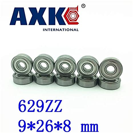 10PCS Miniature deep groove ball bearings for Electric Tools 629ZZ 629-2Z 80029