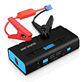 Car Jump Starter,(New Version) Pictek 600A Peak 13600mAh Portable External Car Battery Jump Starter, Multi-Function Emergency Car Booster Power Bank with Advanced Safety Protection/ LED Flashlight/ 2 USB Ports