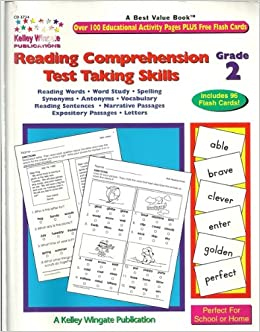 Reading Comprehension Test Taking Skills Grade 2 Paperback August 1 2002