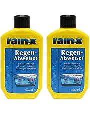 2 x Rain-X regendeflector, 200 ml, ruitenwisser voor de auto