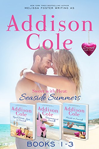 Sweet with Heat: Seaside Summers, Contemporary Romance Boxed Set, Books 1-3: Read, Write, Love at Seaside - Dreaming at Seaside - Hearts at Seaside]()