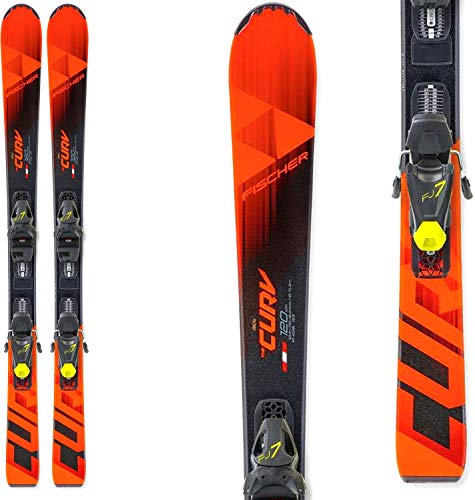 Fischer The Curv Jr. Skis w/ FJ7 GW AC SLR Bindings Kids