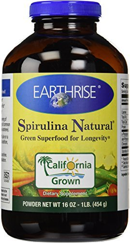 Earthrise Spirulina Natural, 454 Grams Powder by Earthrise Nutritional