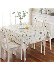 Pvc Table Mat Disposable Plastic Table Mats Waterproof Oil Proof No Wash Cloth Cloth The Print Tablecloths European Style Pastoral Table Mat C 137x160cm 54x63inch
