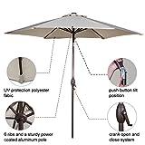 Abba Patio 9ft Patio Umbrella Outdoor Umbrella