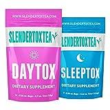 Slendertoxtea - 14 Day Teatox (Weight loss tea, Diet tea, Slimming tea & Burn fat tea) Diet supplement, Detox & Green tea.