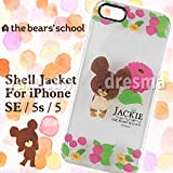 KG-119A [shell jacket iPhone SE   5s   5 for school bears flowers]